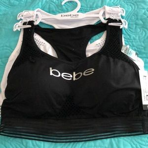NWT bebe 2 Pack plus size seamless bras tag free